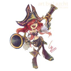 League of Legends: Miss Fortune by Lazcht
