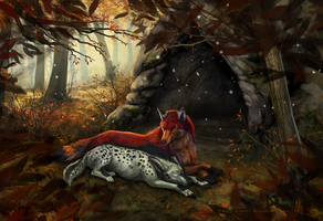 Moment of peace by wolf-minori