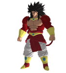 LSSJ4 Broly PNG by WOLFBLADE111