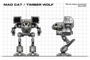 Mad Cat Blueprint by Walter-NEST
