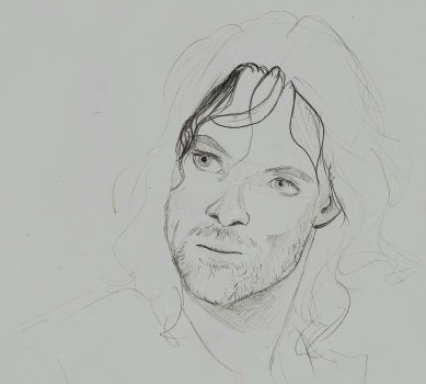 Aragorn son of Doodlethorn by ifroggirl