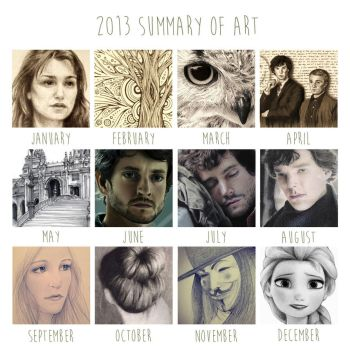 2013 Summary of Art by ShadowSeason