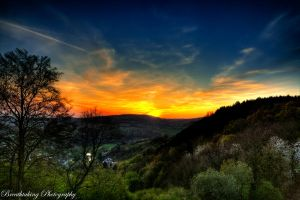 Sky is burning HDR by xMAXIx