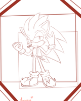 Point Commission 2 out of 2-Vermin The Hedgehog by Eokoi