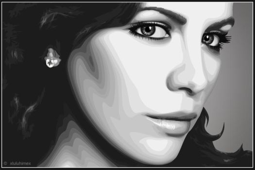 Kate Beckinsale -vectorized- by xluluhimex