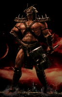 Shao Kahn, Konqueror of the Realms by RPGxplay