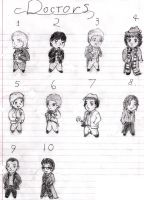 Chibi Doctors by David-Tennant-Fans