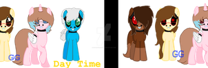Five Nights At Rose's Day and Night by GamergirlKirsten