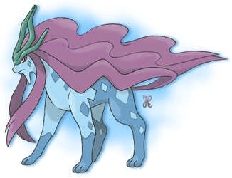 Mega Suicune by icaro382