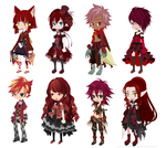 FREE 'Red' Theme Dreamselfy Adopts [CLOSED] by Blithe-Adopts