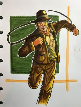 Indiana Jones is BACK BABY! by Beginneratart