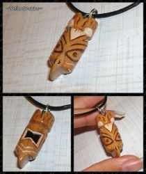 Until Dawn - Fortune Totem Charm Necklace by YellerCrakka