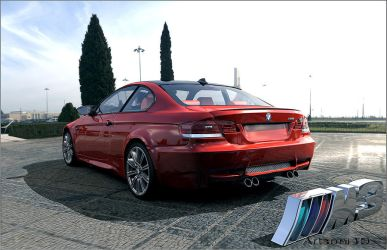 BMW m3 e92 by Artsoni3D