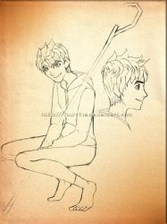 Jack Frost-Sketch-3 by RfourRfive