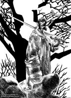 Hellboy  - In the Forest (after Duncan Fegredo) by EttoBascianoWorks