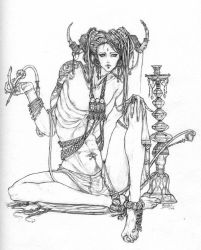 Nephthys- friend of the dead by BigBoyBoon