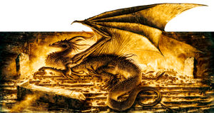 Smaug The Magnificent by mike-nash