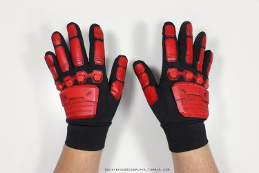 Soldier 76 Cosplay: Gloves (tutorial included!) by Rebeccannoying