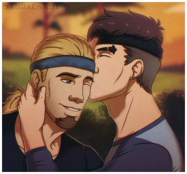 Dream Daddy - Smooch by SabraeTrash