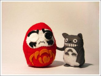 Daruma: Wee Plushy by murz