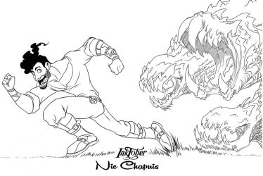 Inktober day one FAST by NicChapuis