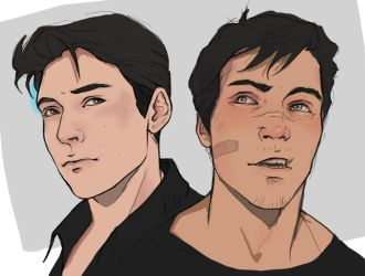 Connor and Gavin by the-ALEF