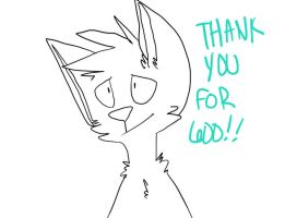 thank you for (almost) 600!! by tropica-I