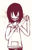 Jeff the Killer- Is killing time by MayxXx27x