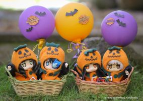 BRS Project: Halloween Trick or Treat by kixkillradio