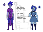Iolite Sodalite Character Sheet by Thea0605