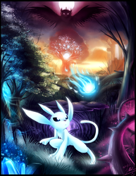 The Orphan's Journey - Ori and the Blind Forest by ShupaMikey