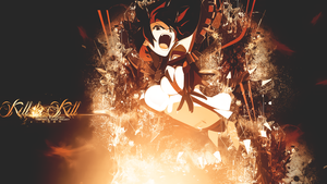 Kill la Kill Wallpaper by tammypain