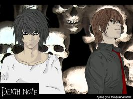 Death Note - Dark Skulls by Xpand-Your-Mind