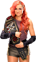 Becky Lynch WWE Champion by Nibble-T