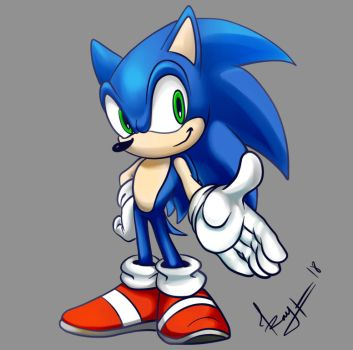 SONIC by MNIMOREA