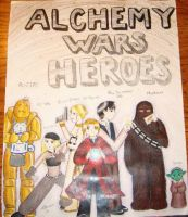 Alchemy Wars Heroes by Estell-chan