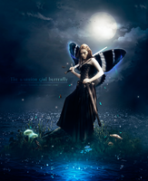 The Warrior girl Butterfly by hansels