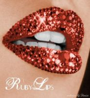 Ruby Lips by M-i-c-h-a-l-a