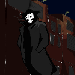 The Reaper walks at night by ginshioh