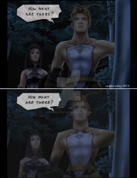 Vagrant Story - ReImagined Ashley and Merlose by GuardianRandyLimoges