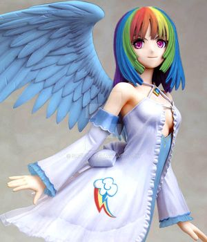 Rainbow Dash Anime version (Custom Figure Mod) by Sazuko