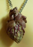 Dead Heart Necklace by Divulged