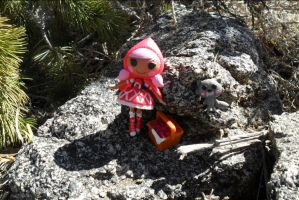 Little Red Riding Hood where is the wolf? by NamineEveningLight