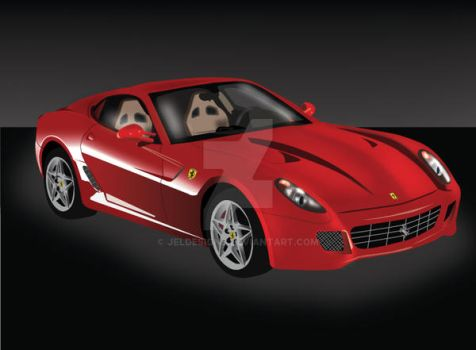 Ferrari vector by JELdesigns