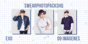 Pack PNG 289: EXO by SwearPhotopacksHQ