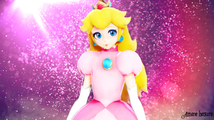 MMD TDA:Princess Peach by AmaneHatsura