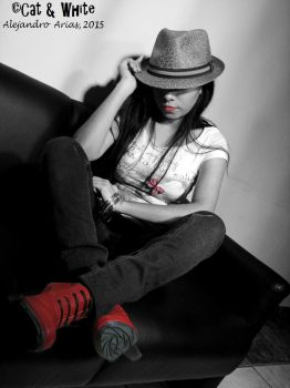 Red Boots 02 by Cat-n-White