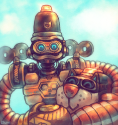 ARMS - Cojora's Byte and Barq by Louivi