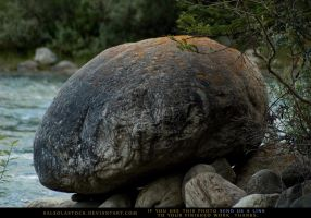 Creekside Boulder 1 by SalsolaStock