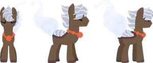Ref. sheet: Steam the Pondpony by The-Sheamus-MLP